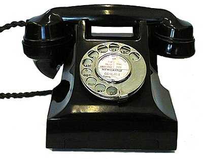 bakelite telephones fashion